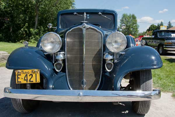 1937 Buick restored to original state...