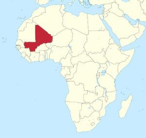 Mali in sub-Saharan African